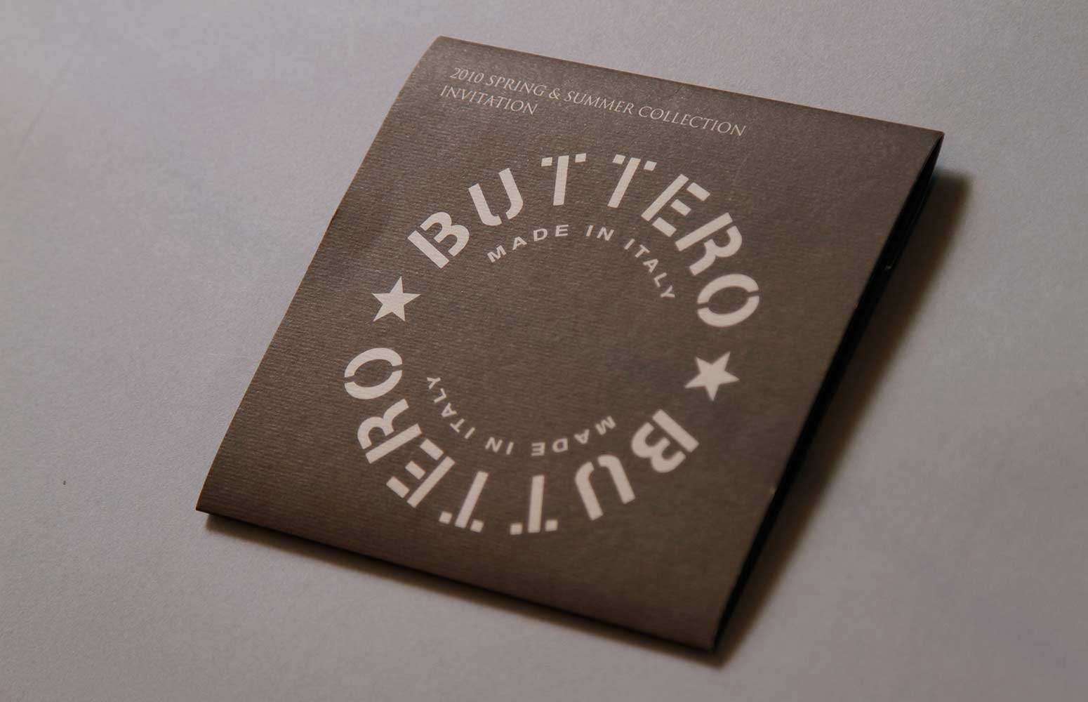 Buttero Invitation Card